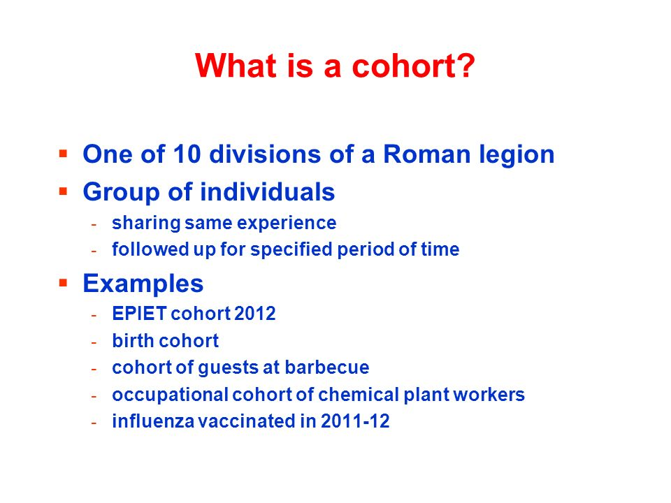 What is a cohort One of 10 divisions of a Roman legion