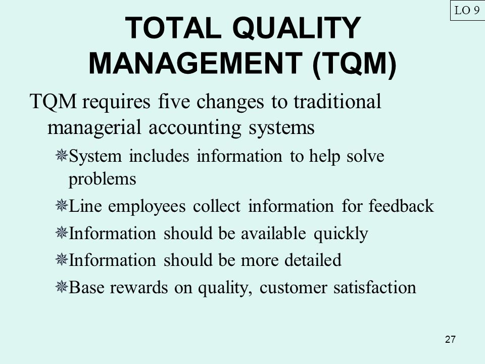 total quality management for example itc The dissemination of tqm values and manage information on quality  with  respect to the sample and fieldwork, just like in the research conducted by  s  and mia, i (2010), the global information technology report 2009-2010: ict for.