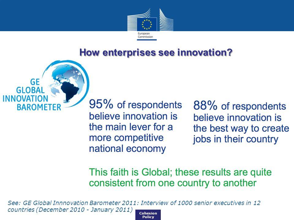 How enterprises see innovation