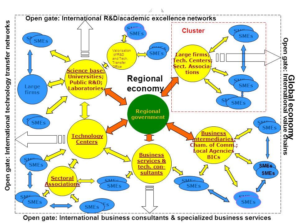 Regional economy Global economy