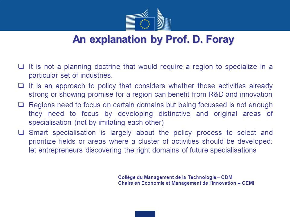 An explanation by Prof. D. Foray