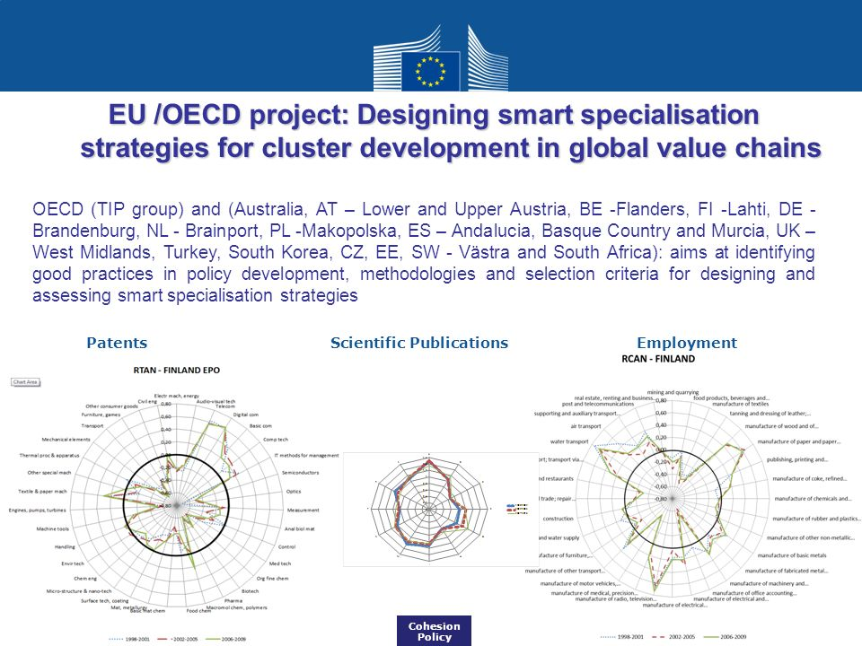EU /OECD project: Designing smart specialisation strategies for cluster development in global value chains