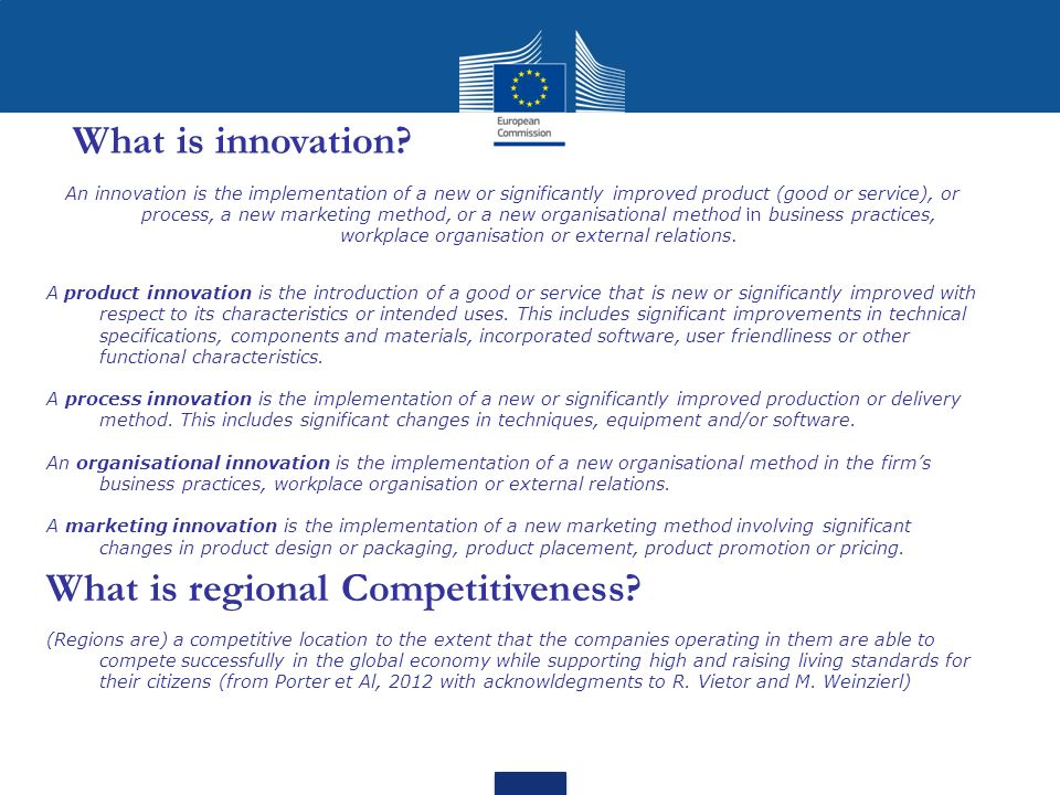 What is regional Competitiveness