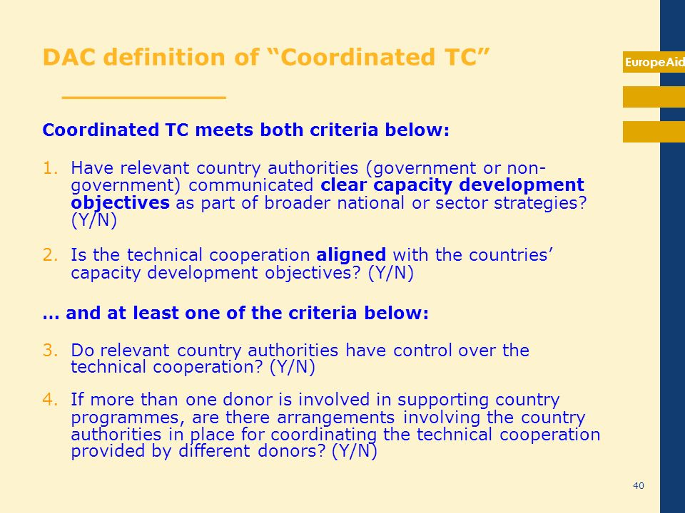 DAC definition of Technical cooperation _______