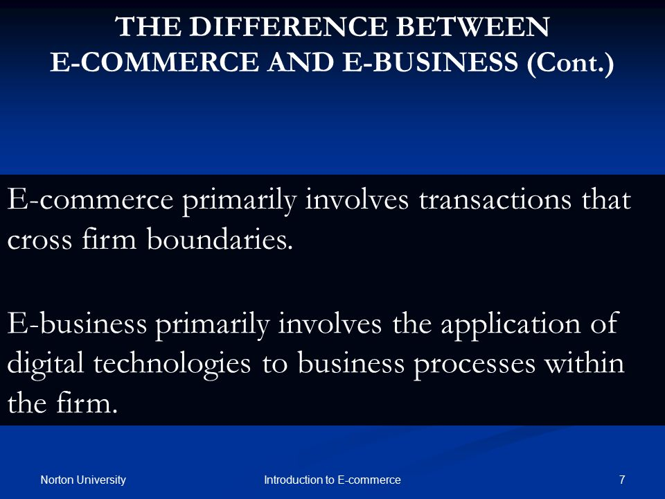 introduction to e business e commerce Introduction to e-commerce and e business-to-business e-commerce testgen computerized test bank for introduction to electronic commerce.