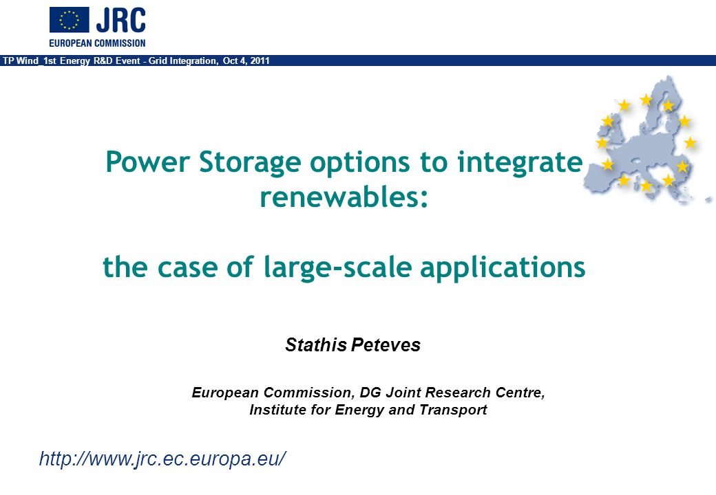 Power Storage options to integrate renewables: