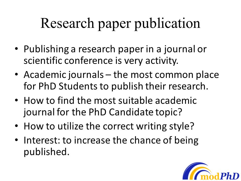 How to buy a research paper online for journal publication ppt