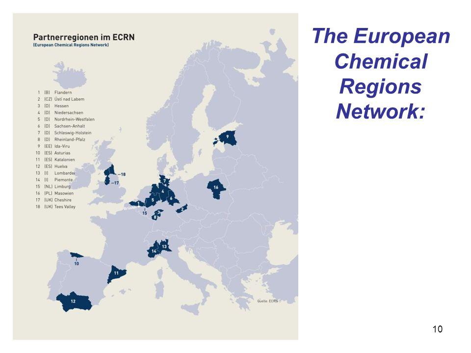 The European Chemical Regions Network: