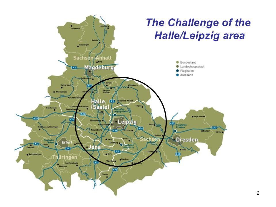 The Challenge of the Halle/Leipzig area