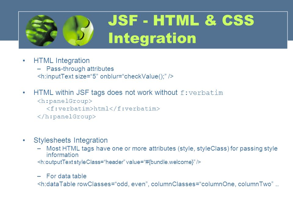 Jsf road map ni clientside validation show problems for Datatable css