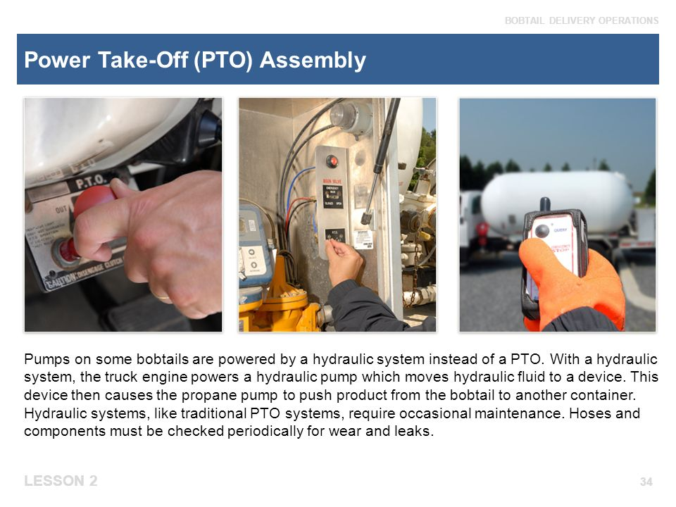 Pump Power Take Off : Module bobtail equipment and systems ppt video online