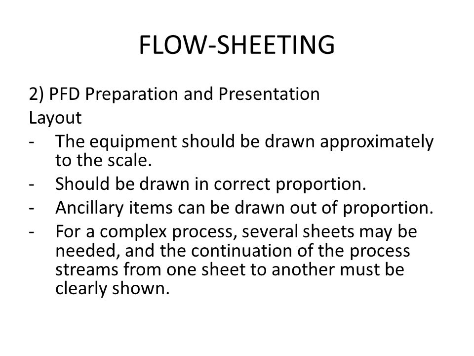 flow-sheeting what we will cover here? pfd? - ppt video online, Presentation templates