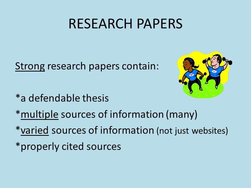 good websites for research paper sources Government websites and government organizations are valuable sources  if you have not already explored government websites to help focus your research paper.