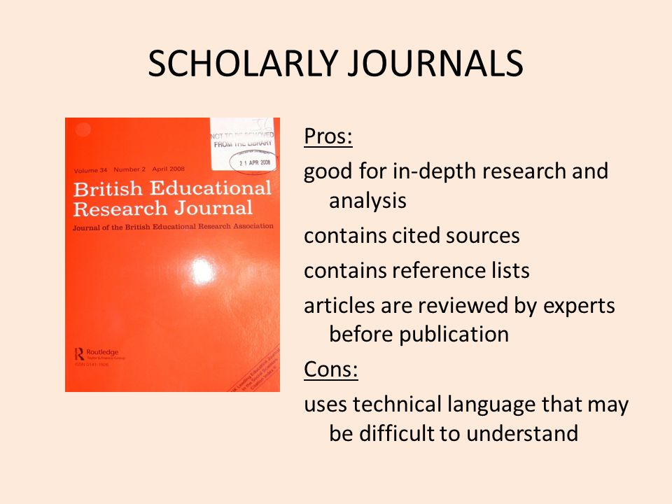 scholary research paper Finding scholarly articles your teacher has told you to find some scholarly articles for your research paper this guide will help you determine (a) what scholarly, or peer-reviewed articles, look like and (b) where and how to find them.