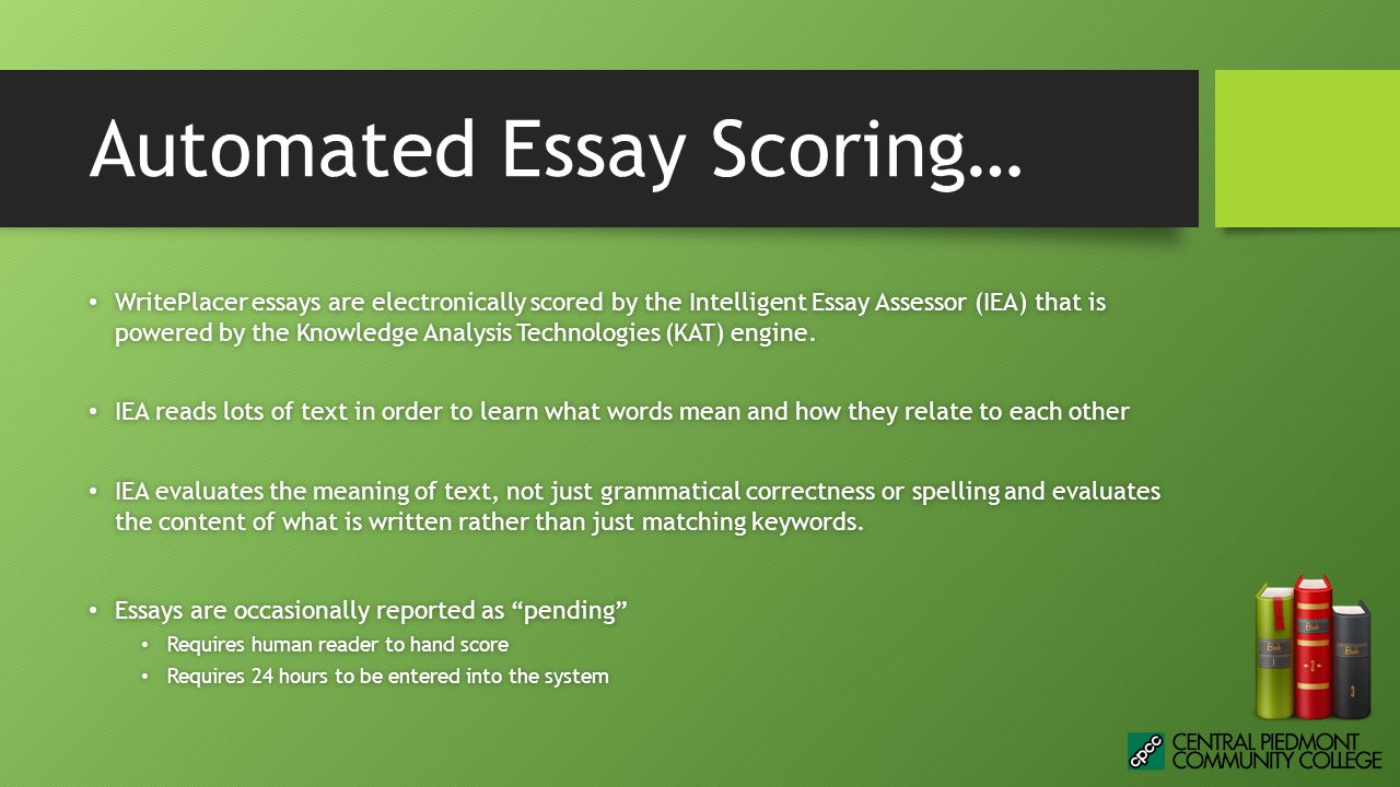 placement test essay scoring Advanced placement test prep help you get  english composition essay scoring ap test  each of the three ap english language and composition essays.