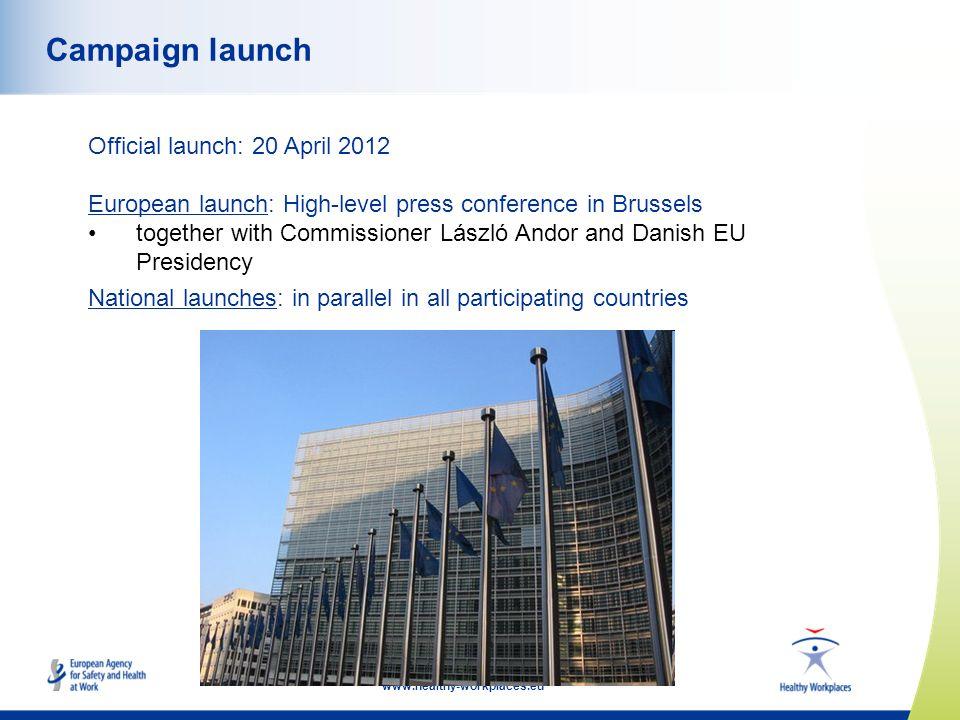 88 Campaign launch Official launch: 20 April 2012