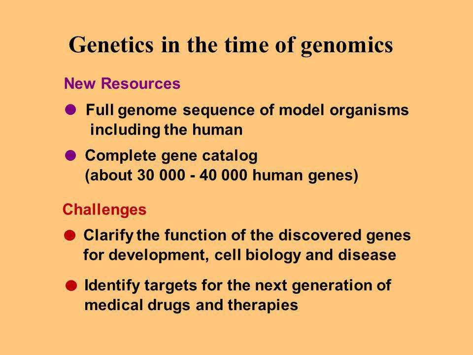 Genetics in the time of genomics