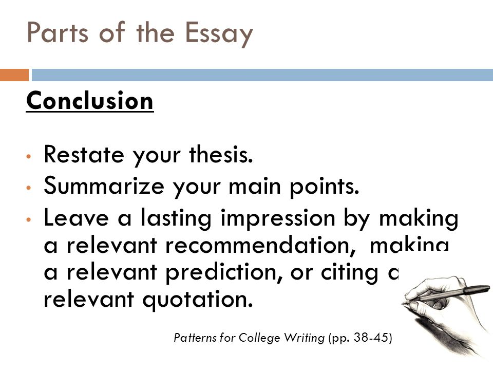 essay conclusion writer We provide excellent essay writing service 24/7 enjoy proficient essay writing and custom writing services provided by professional academic writers.
