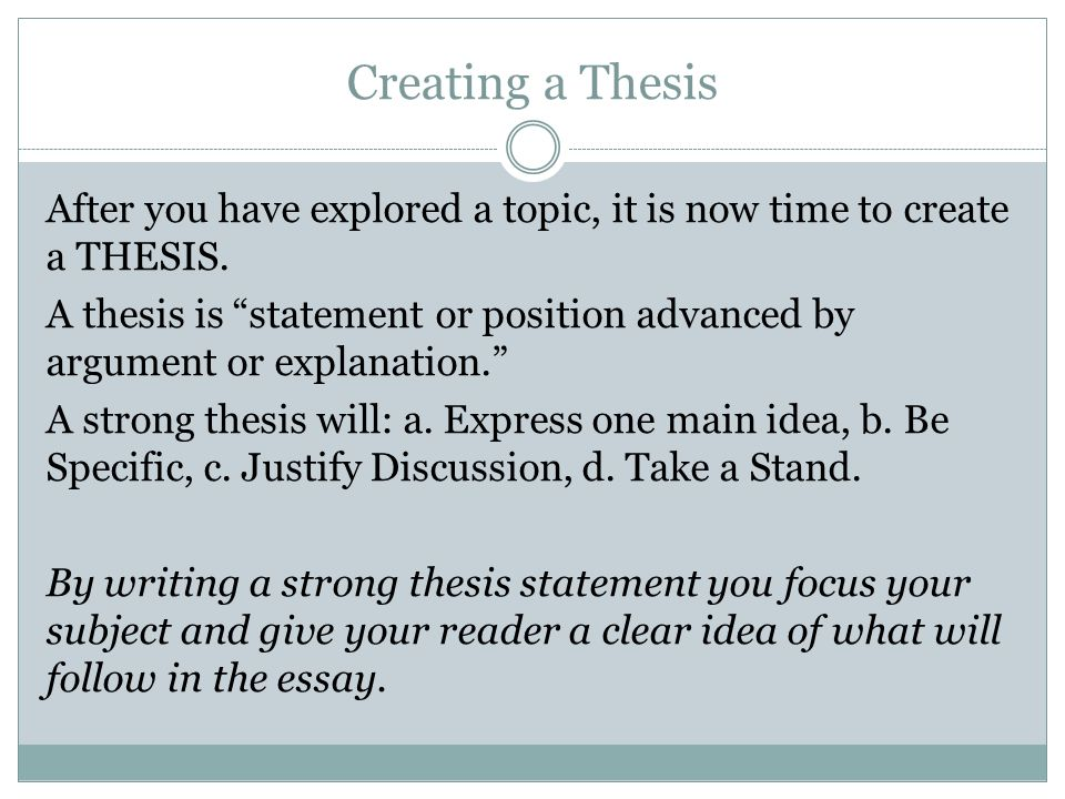 generate your thesis statement  thesis statement generator thesis statement generator