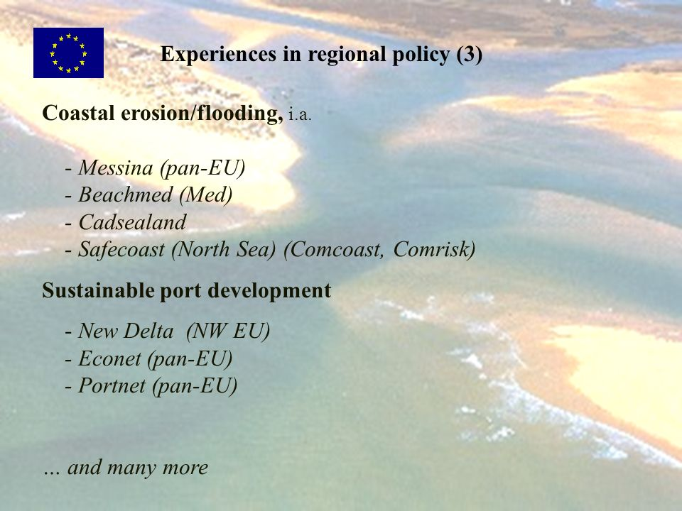 Experiences in regional policy (3)