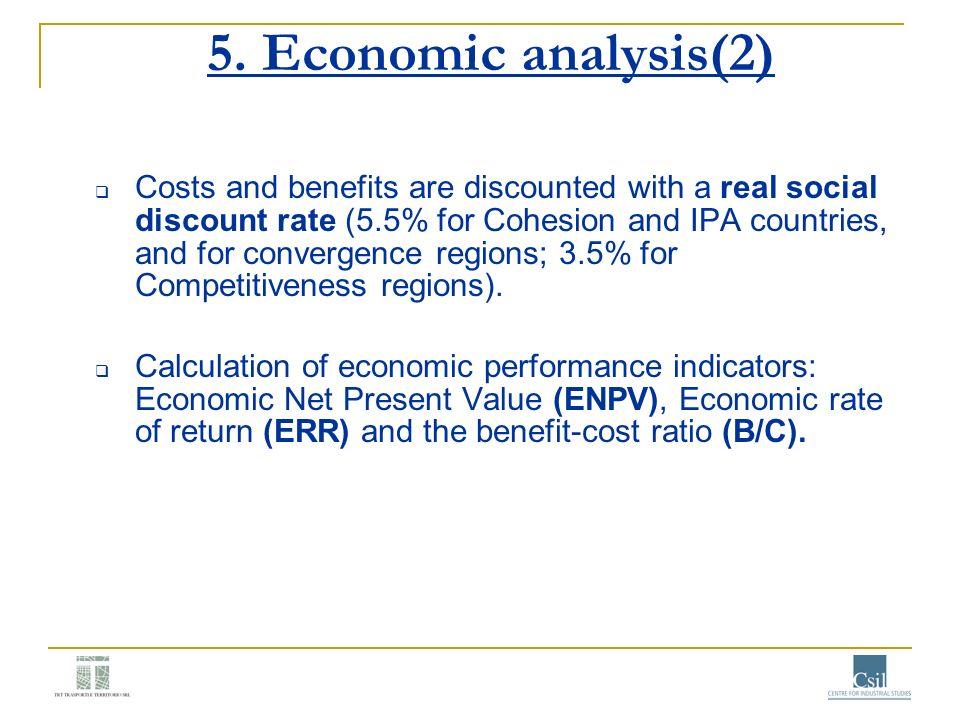 5. Economic analysis(2)