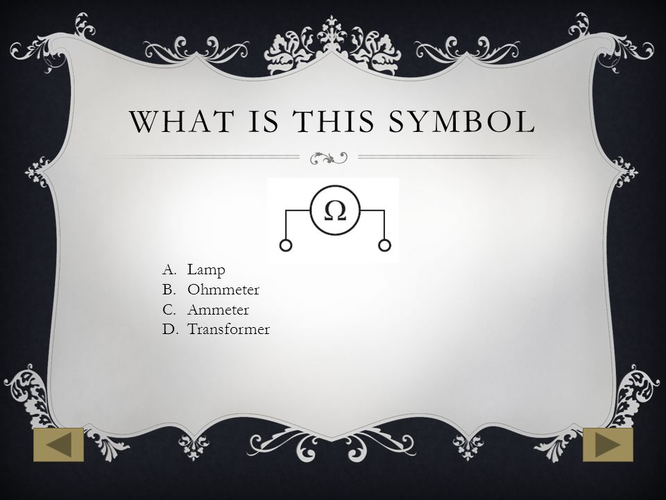 Großzügig Ohmmeter Symbol Fotos - Elektrische Schaltplan-Ideen ...