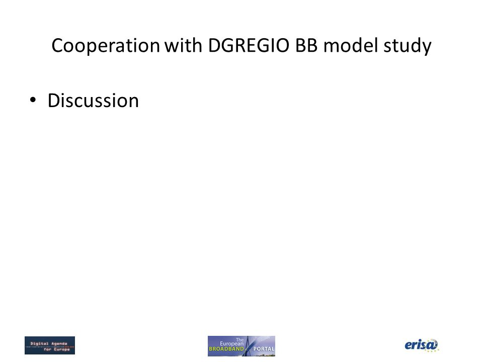 Cooperation with DGREGIO BB model study
