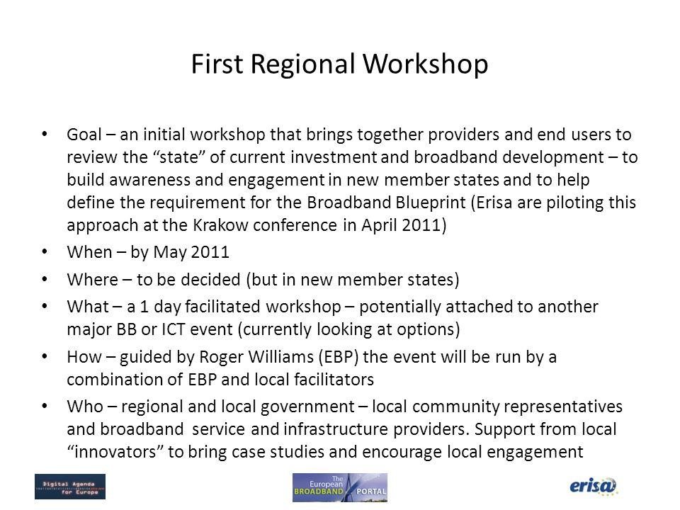 First Regional Workshop