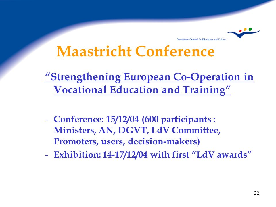 Maastricht Conference
