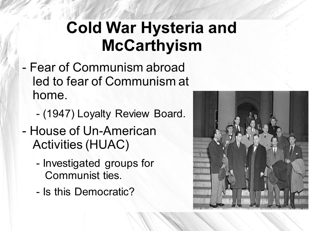 the cold war and communism How can the answer be improved.