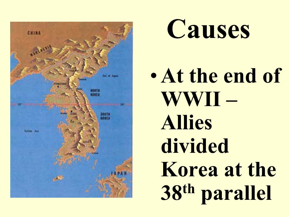 causes the korean war 1950 1953