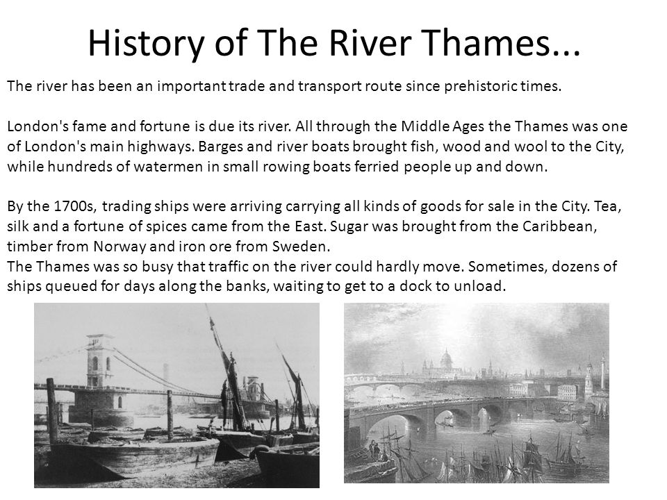 The River Thames Ppt Download