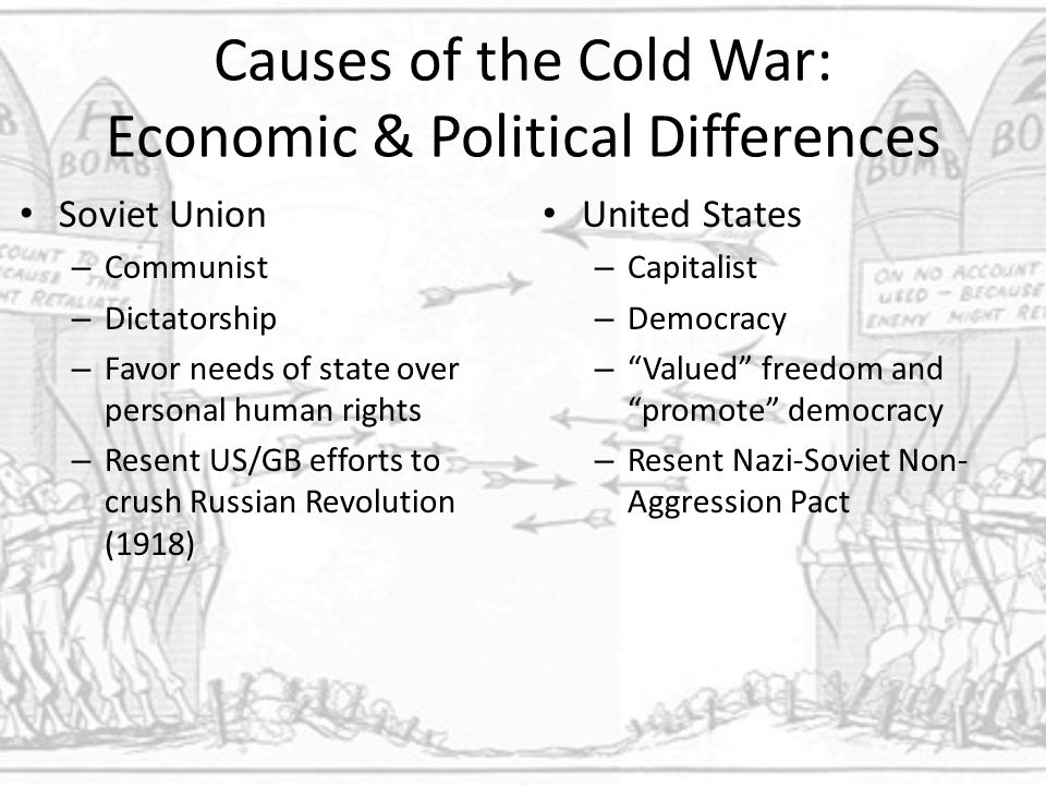 an analysis of cold war between russia and the united states Can we escape a second cold war with russia  to insist on the rightness of his analysis or the policy choices made by his preferred politicians  be good relations between the united states .