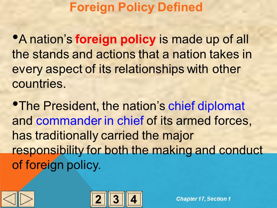 four p s foreign policy Spending4 in addition, trump's demands for more equitable burden  10  melvyn p leffler, bush's foreign policy, foreign policy, no.
