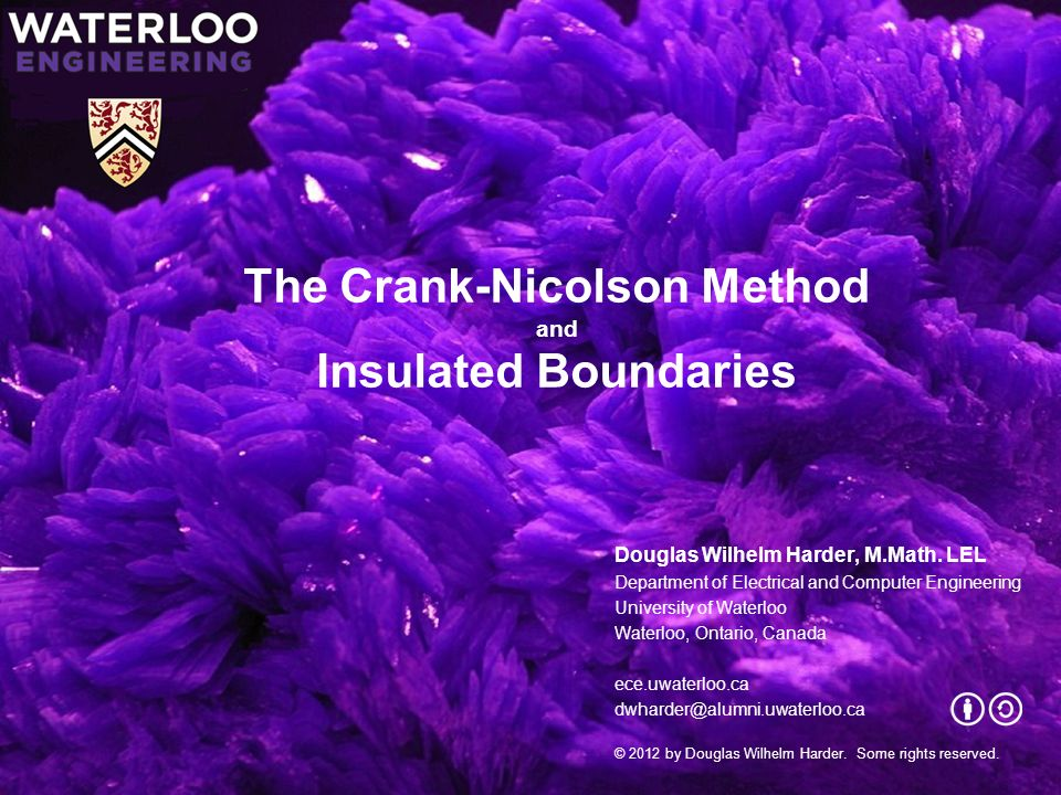 The Crank-Nicolson Method and Insulated Boundaries