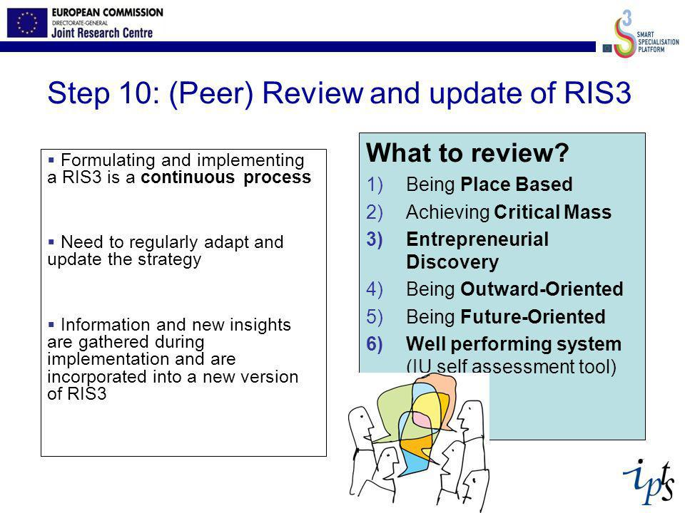 Step 10: (Peer) Review and update of RIS3