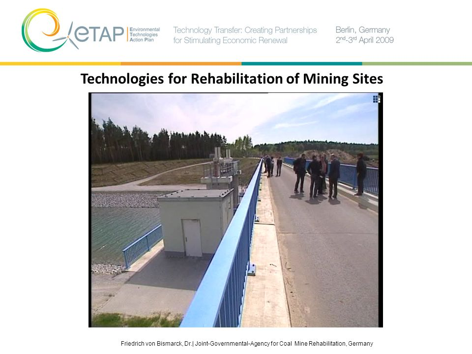 Technologies for Rehabilitation of Mining Sites