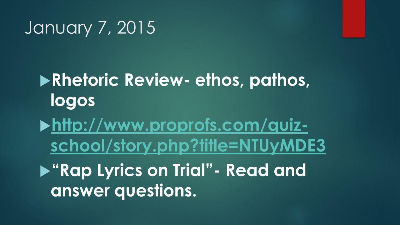 Ethos logos pathos worksheet pdf