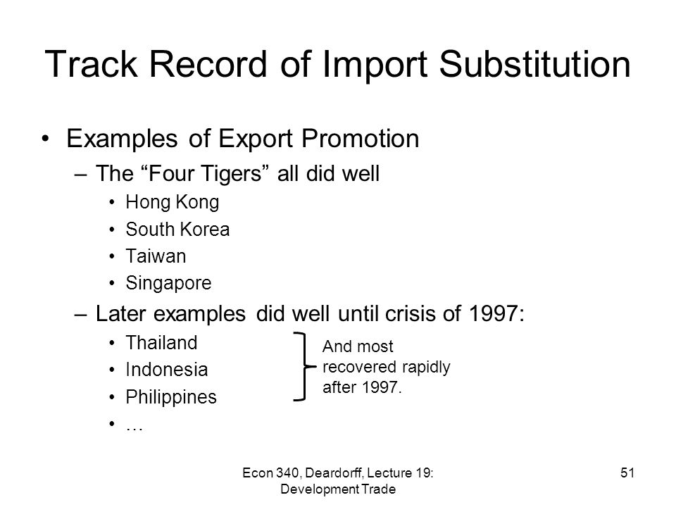 what is import oriented