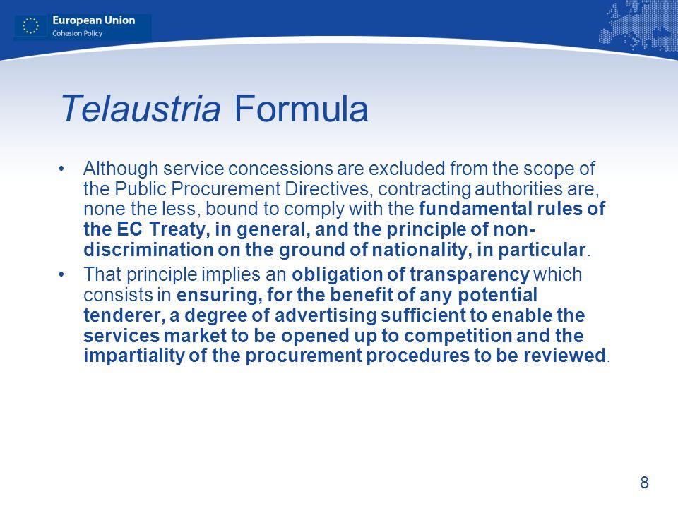 Telaustria Formula