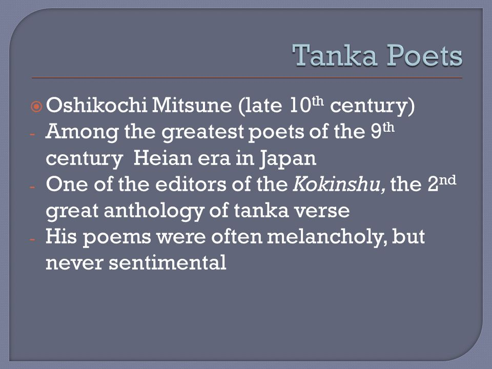 poetry ppt video online 11 tanka