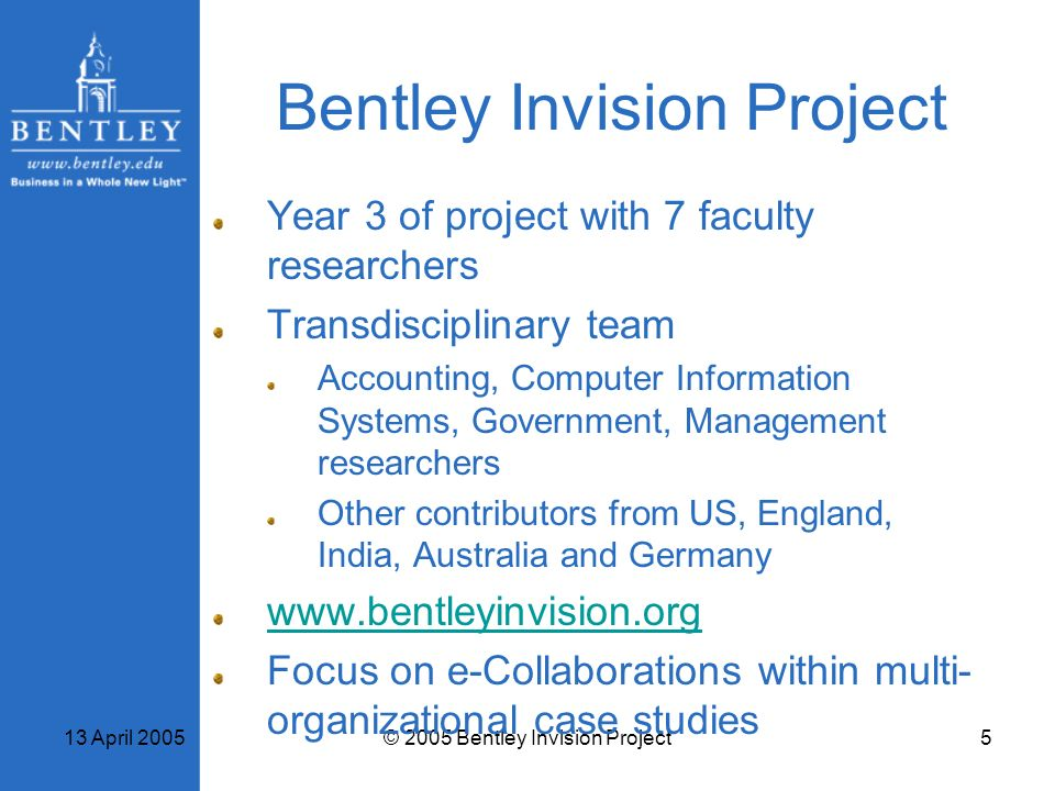 Bentley Invision Project