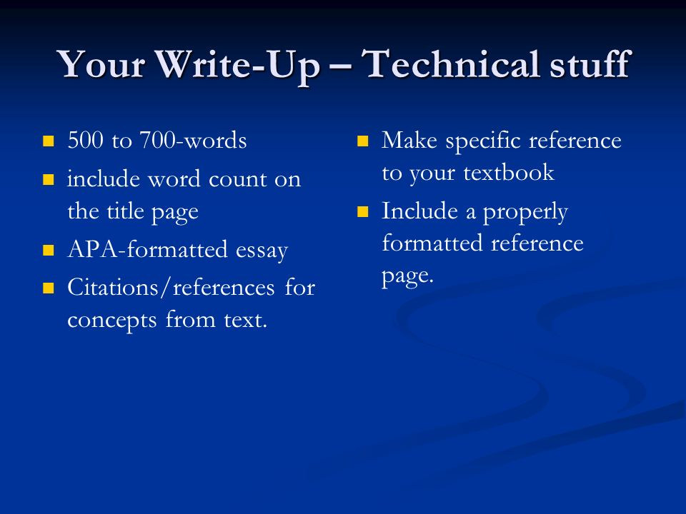 Does essay word count include in text references mla