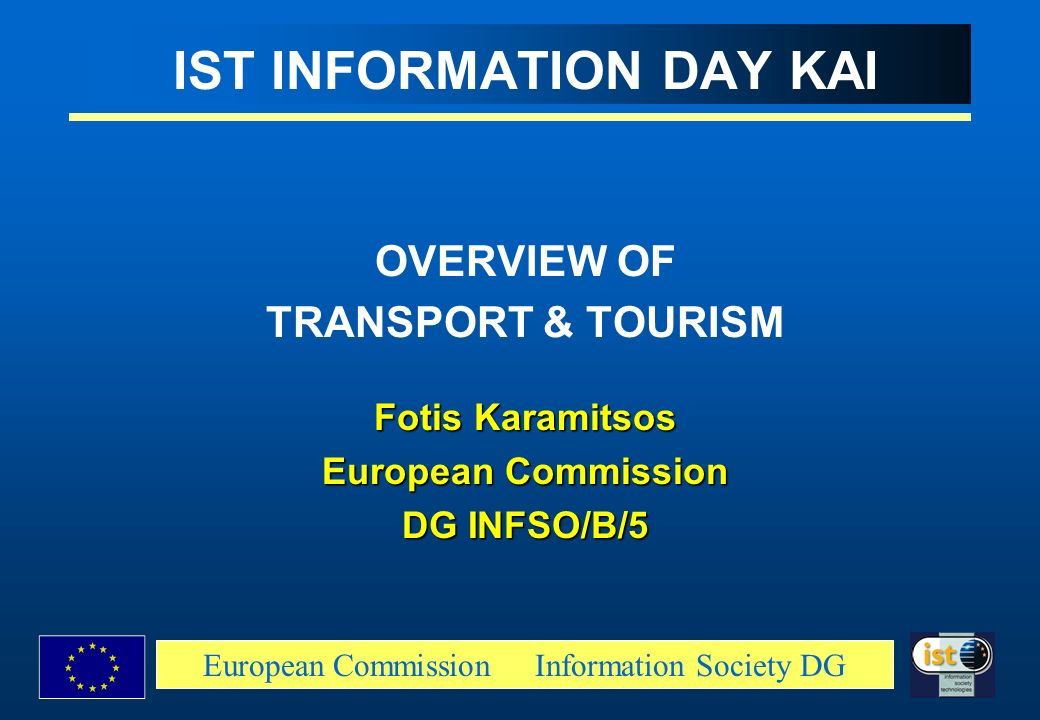 IST INFORMATION DAY KAI