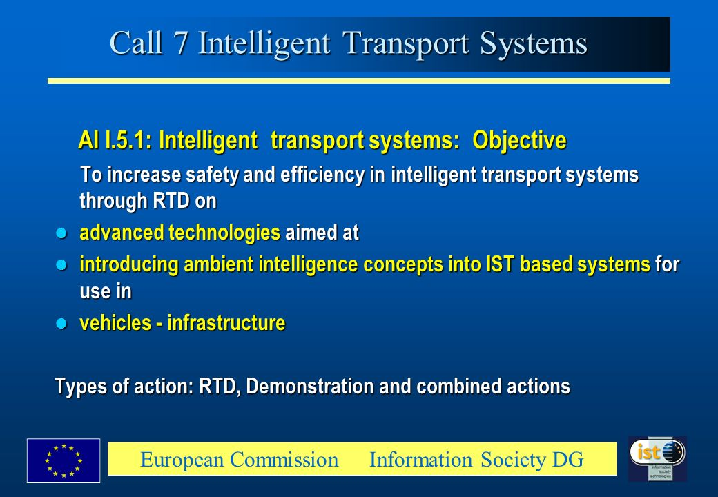 Call 7 Intelligent Transport Systems