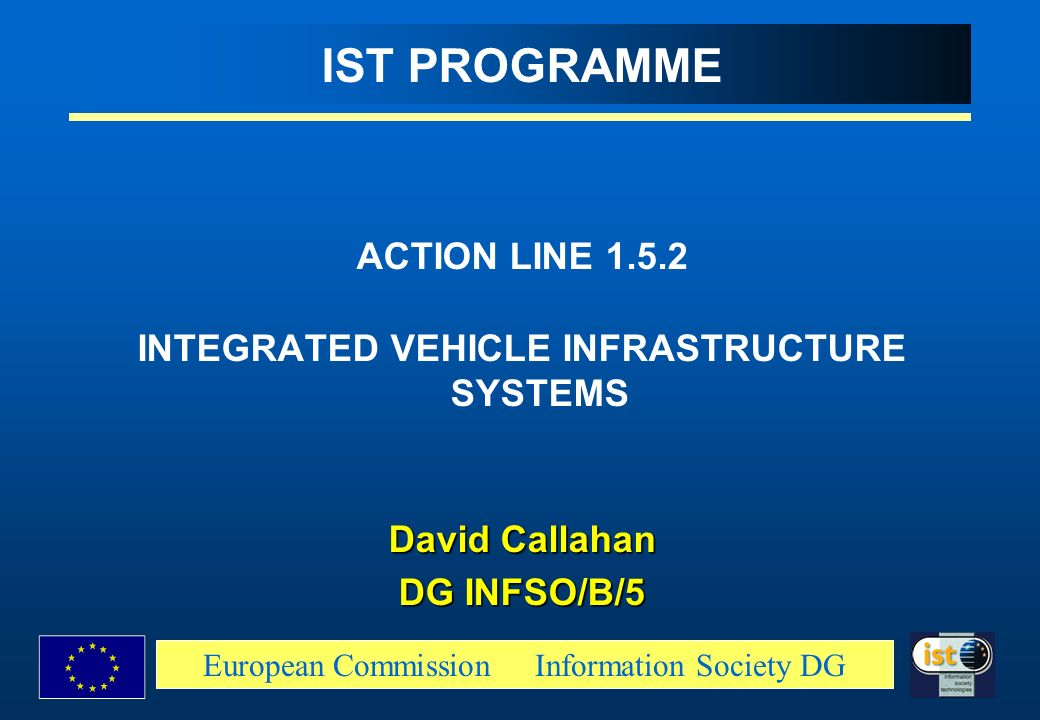 INTEGRATED VEHICLE INFRASTRUCTURE SYSTEMS
