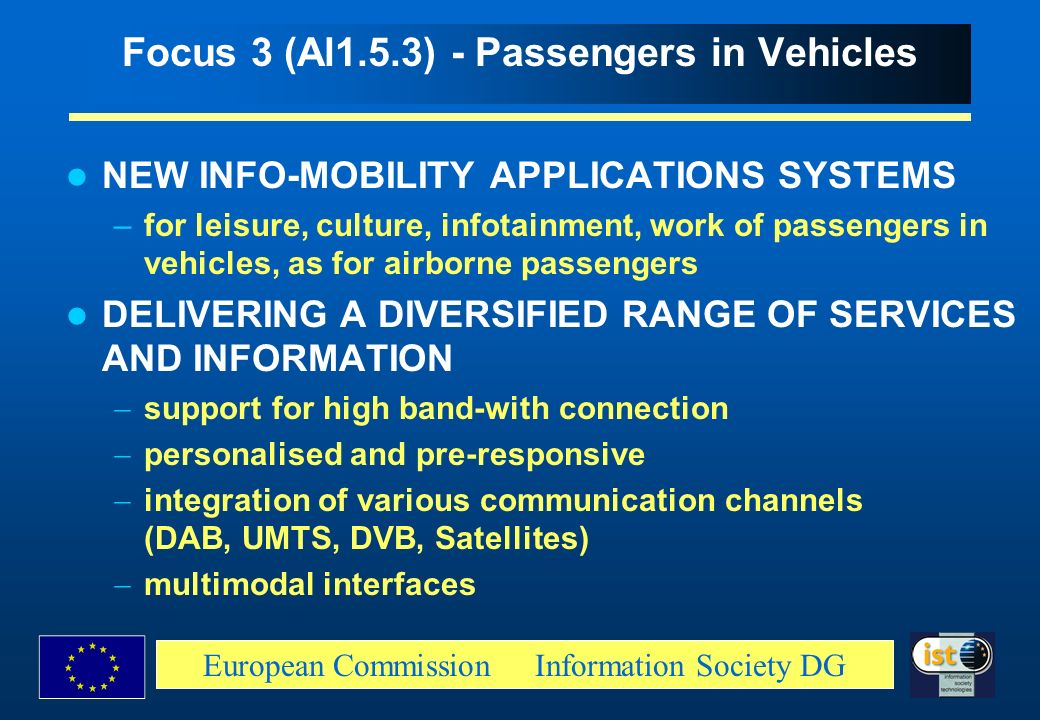 Focus 3 (Al1.5.3) - Passengers in Vehicles
