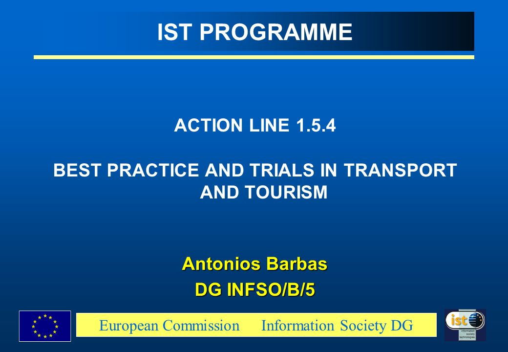 BEST PRACTICE AND TRIALS IN TRANSPORT AND TOURISM