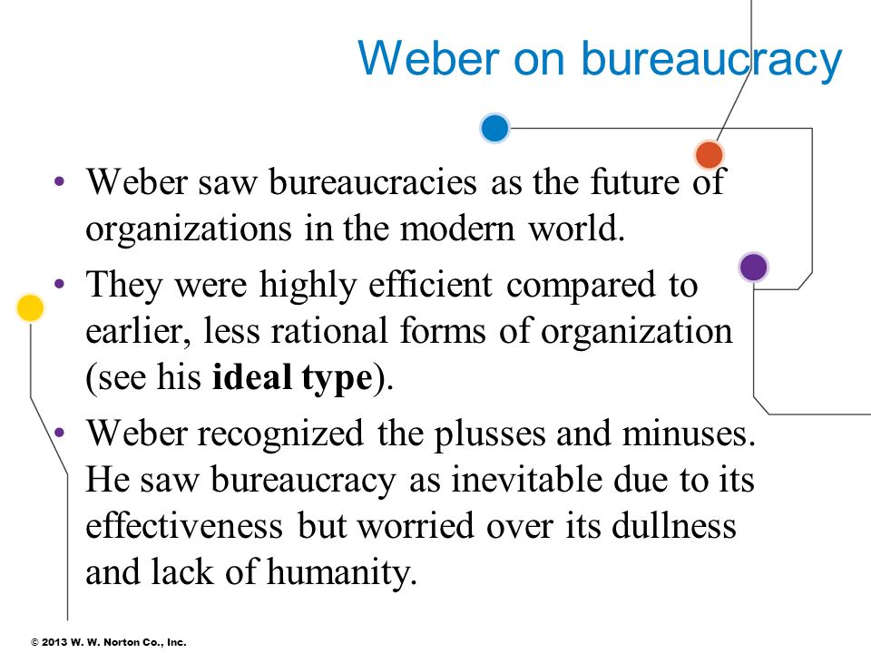 bureaucracy in modern organisation Because of its own defects and the development of the change modern social environment, the organization mode of the bureaucracy is also facing a crisis and the bureaucratic organization also exist some disadvantages.