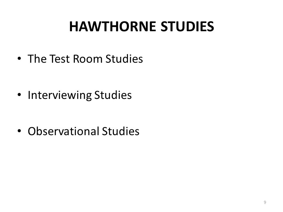 objectives of hawthorne studies Nathaniel hawthorne' stories are more often associated with dark examinations of complex learning objectives literature, social studies, language, art.